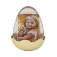 اطار البيضة ذهبي مع اضاءة وموسيقى (907033)