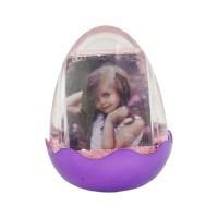 اطار البيضة بنفسجي مع اضاءة وموسيقى (907036)